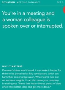 international women's day 2019 - Bias Card Activity1 219x300 - International Women's Day: A Call to Action