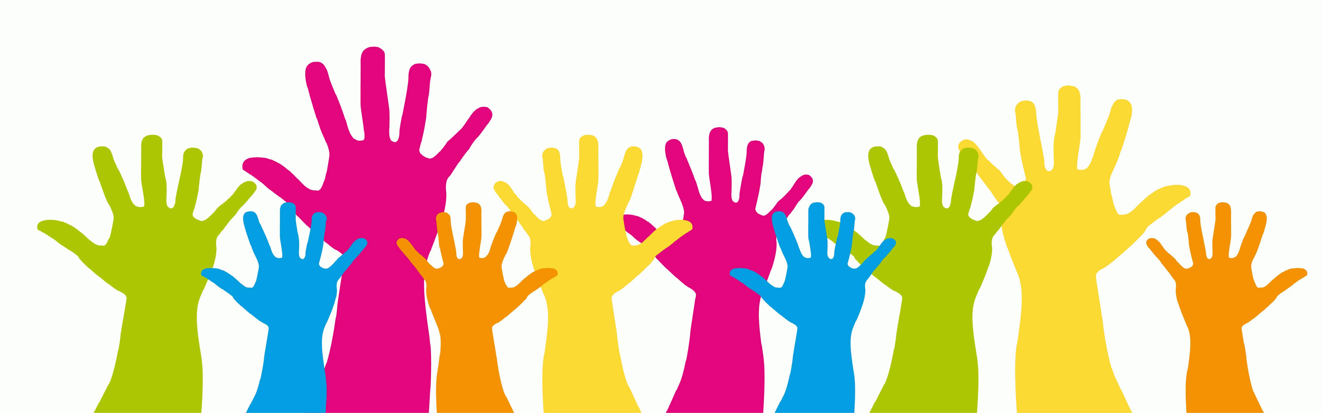 hands volunteer