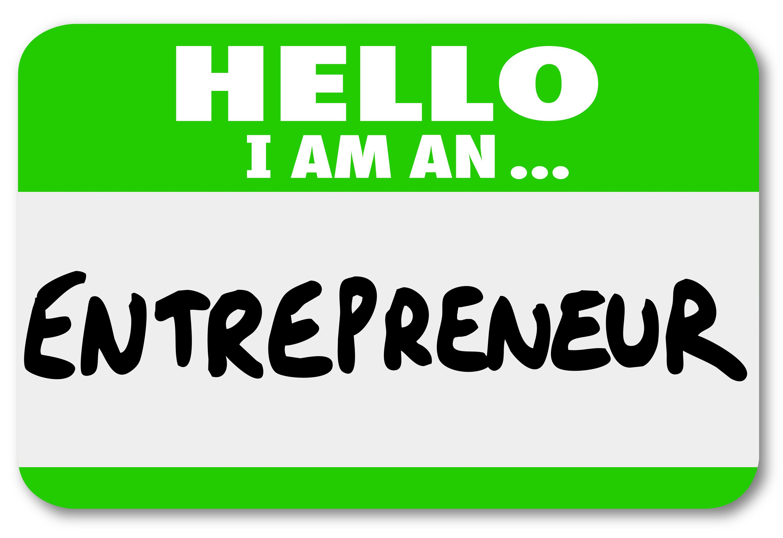 Entrepreneur Name Tag